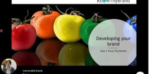 develop strong brand